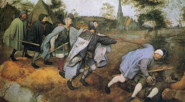 Parable of the Blind by Pieter Breugel the Elder, 1568