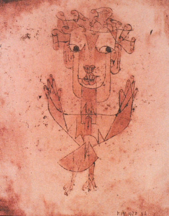 New Angel by Paul Klee 1920